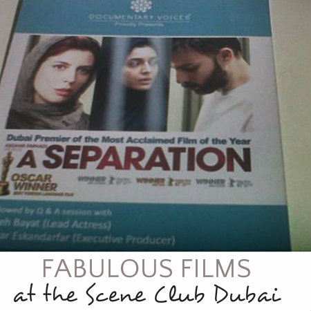 A SEPARATION : Best Foreign Film
