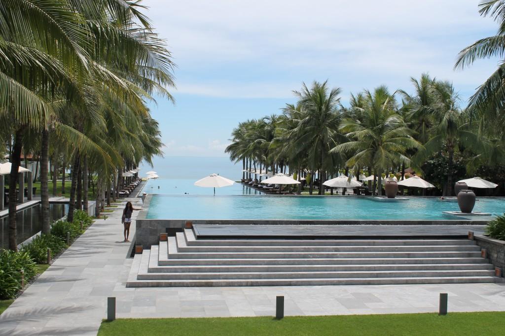 Nam Hai pool Hoi An Vietnam
