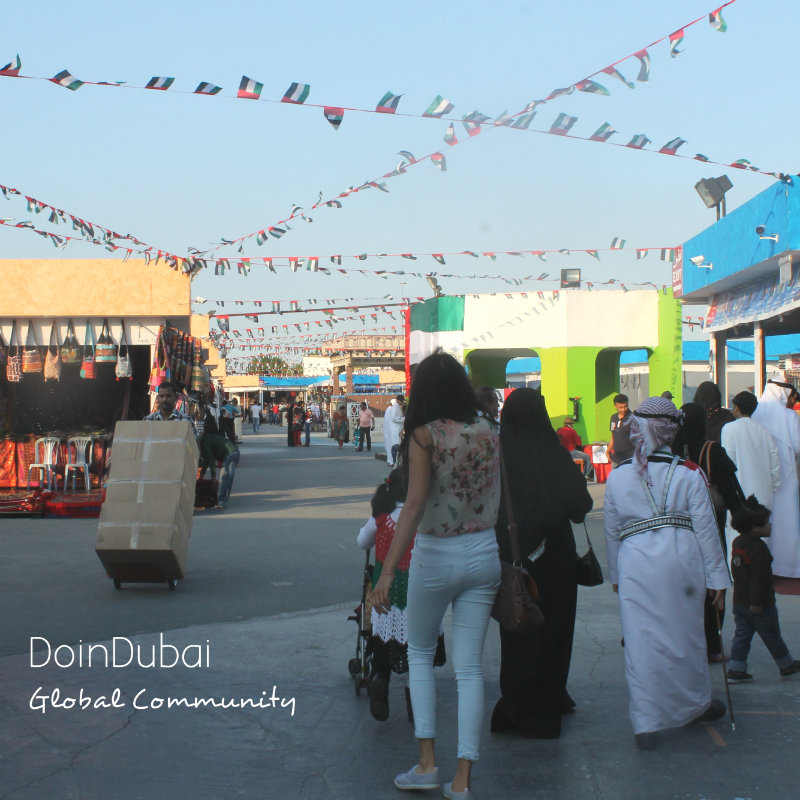 Global Village Walk