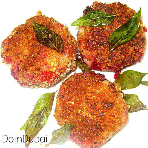 SPICY BEETROOT CUTLETS RECIPE