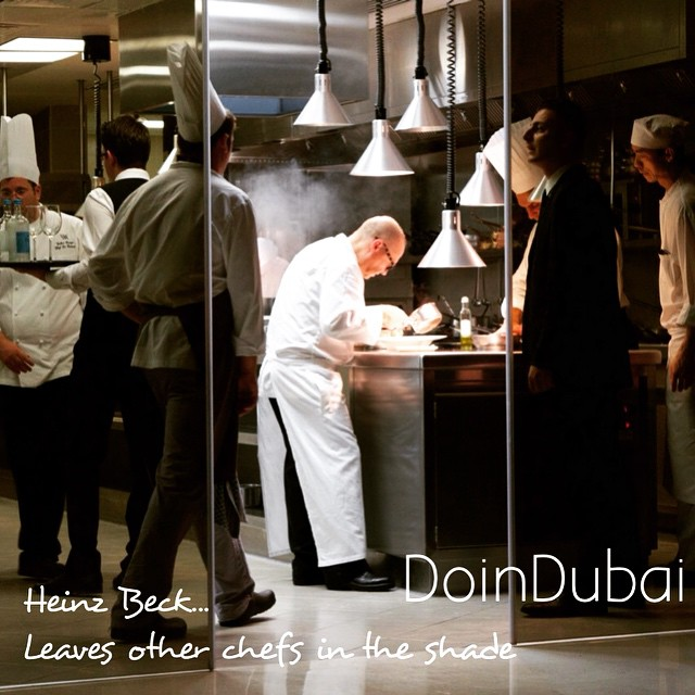 Fight to get a seat at Social @Waldorfdubai #Fabulous experience #eating @HeinzBeck #cuisine. Here for 2 nights only. #Gastronomy #VisitDubai #Special #Evening New post with #interview coming soon find out what #HeinzBeck favourite #restaurant is...but have to finish #ATM2015 first ! #celebrity #chef