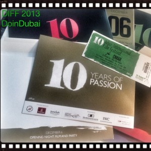 DUBAI INTERNATIONAL FILM FESTIVAL 2013