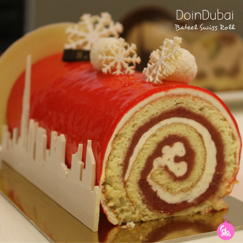 Bateel Swiss Roll 800 bauble Edible Christmas Gifts DoinDubai