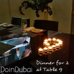 TABLE 9 HILTON DUBAI CREEK