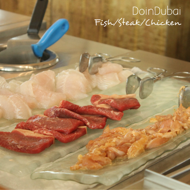 Burj Al Arab Al Yam Fresh fish chicken and steak 800