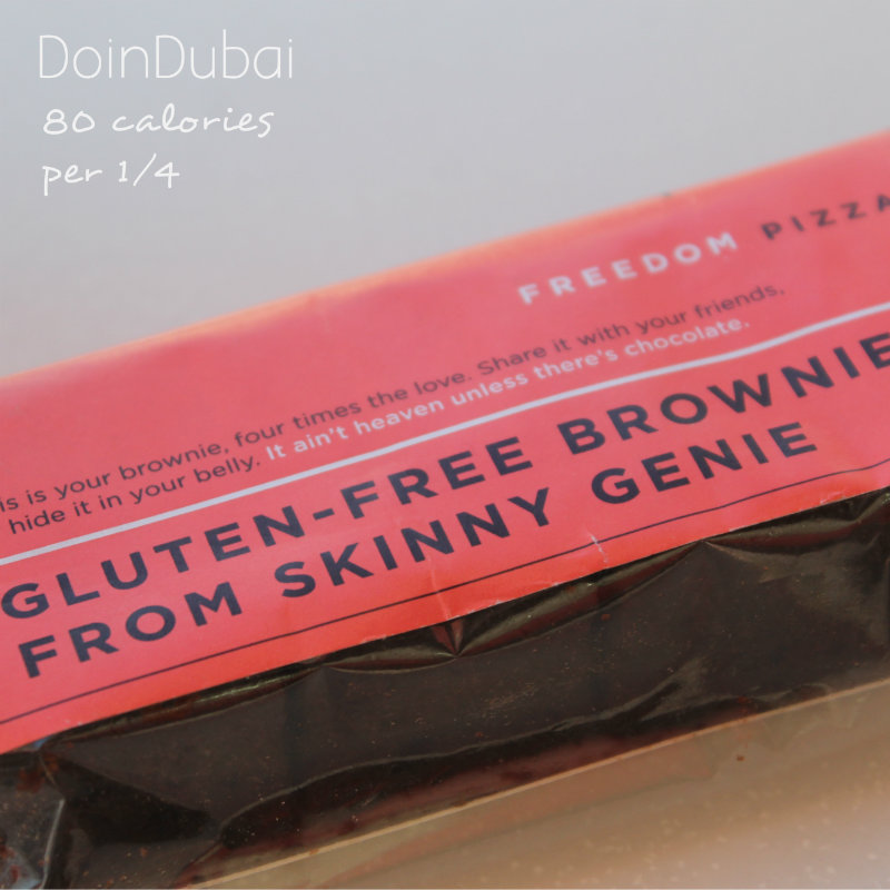 Freedom Choc Brownie DoinDubai Healthy Eating