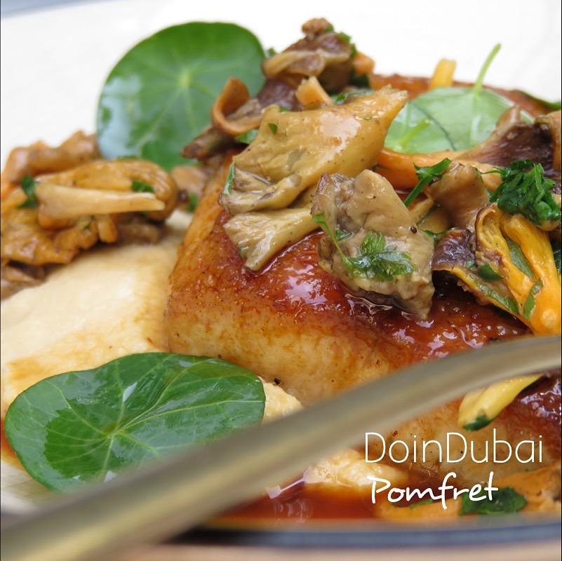Boca DIFC DoinDubai Pomfret fish