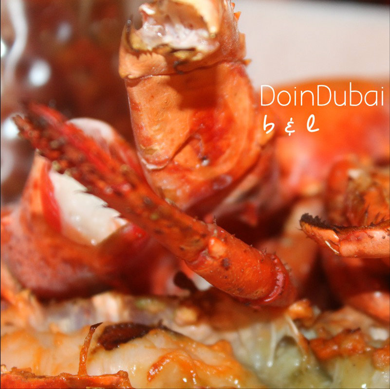 What kind of quality is the lobster at Burger Lobster Dubai