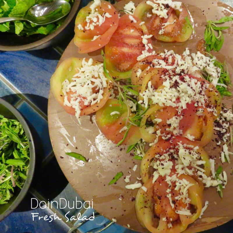 The Collective Grand Hyatt DoinDubai Fresh Salad