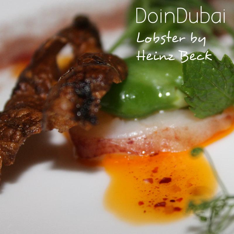 HEINZ BECK in DUBAI WALDORF ASTORIA