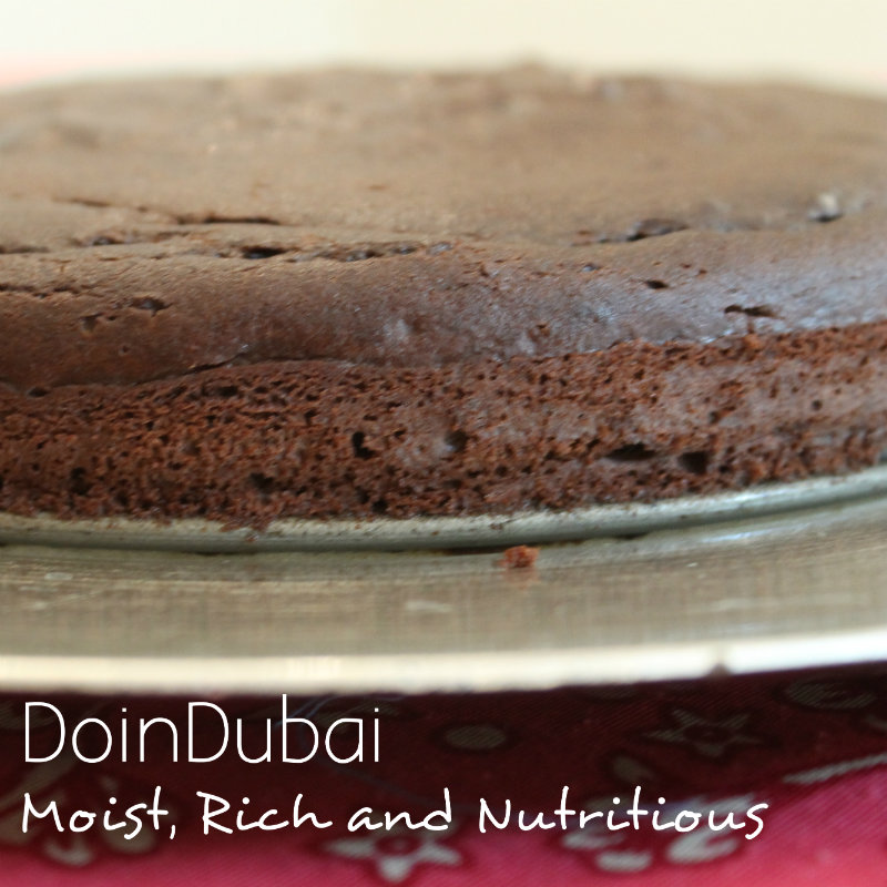 Gluten Free Chocolate Cake finished cake