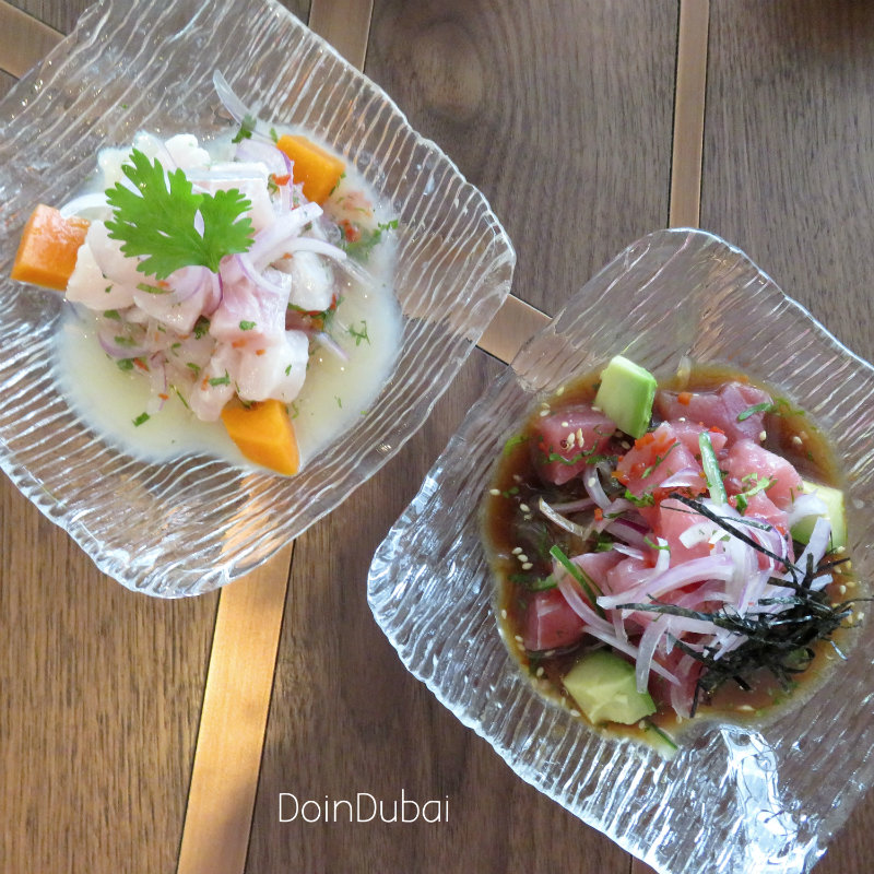 TOTORA DIFC DOINDUBAI Ceviches selection 800