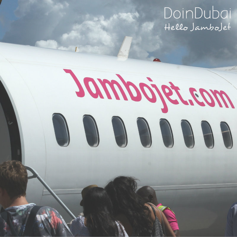 Jambo Jet for internal travel to Kenya