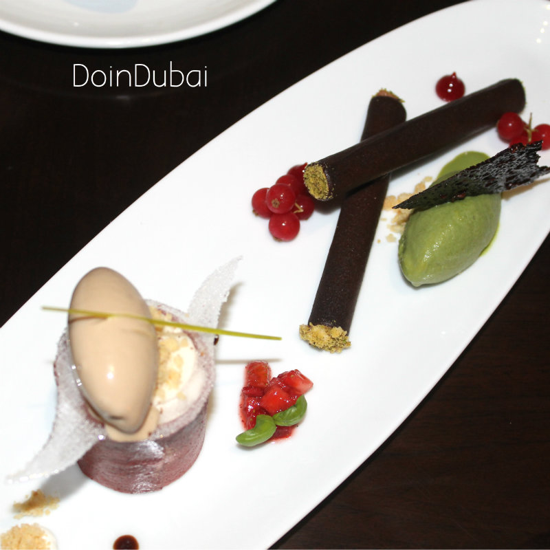 Sea Fu Chocolate Dessert