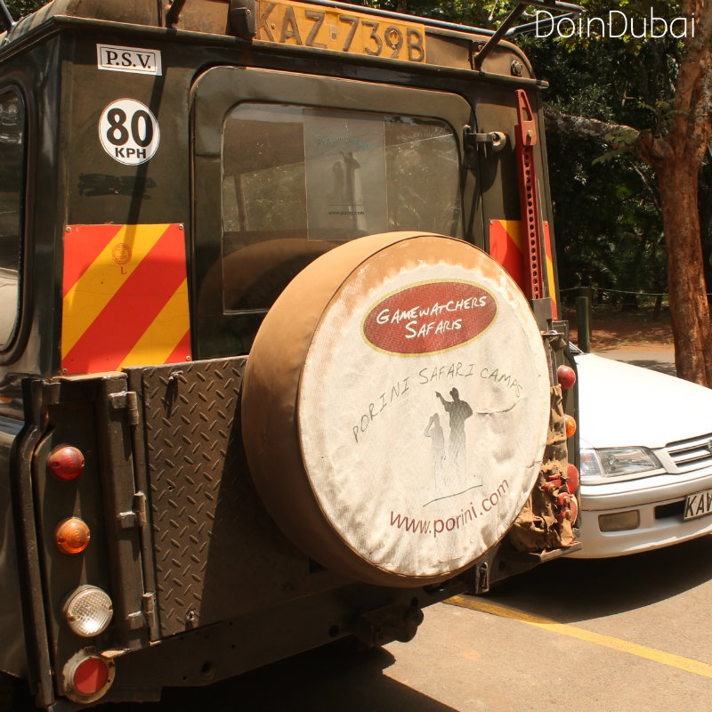 Gamewatchers Vehicle DoinDubai Nairobi Tented Camp