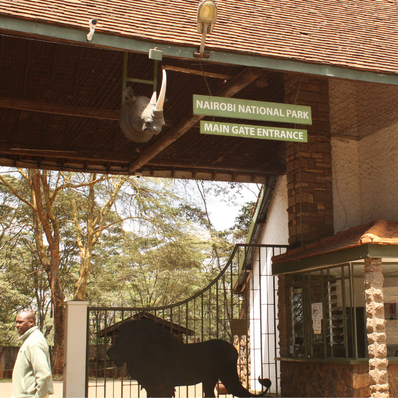 Nairobi National Park Main Gate