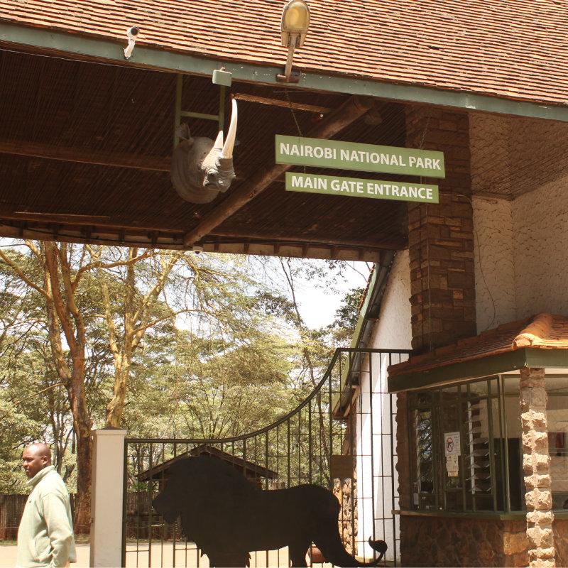 Nairobi National Park Main Gate