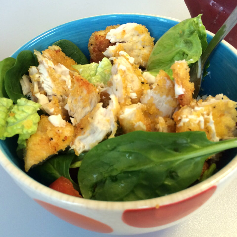 off to uni healthy chicken salad