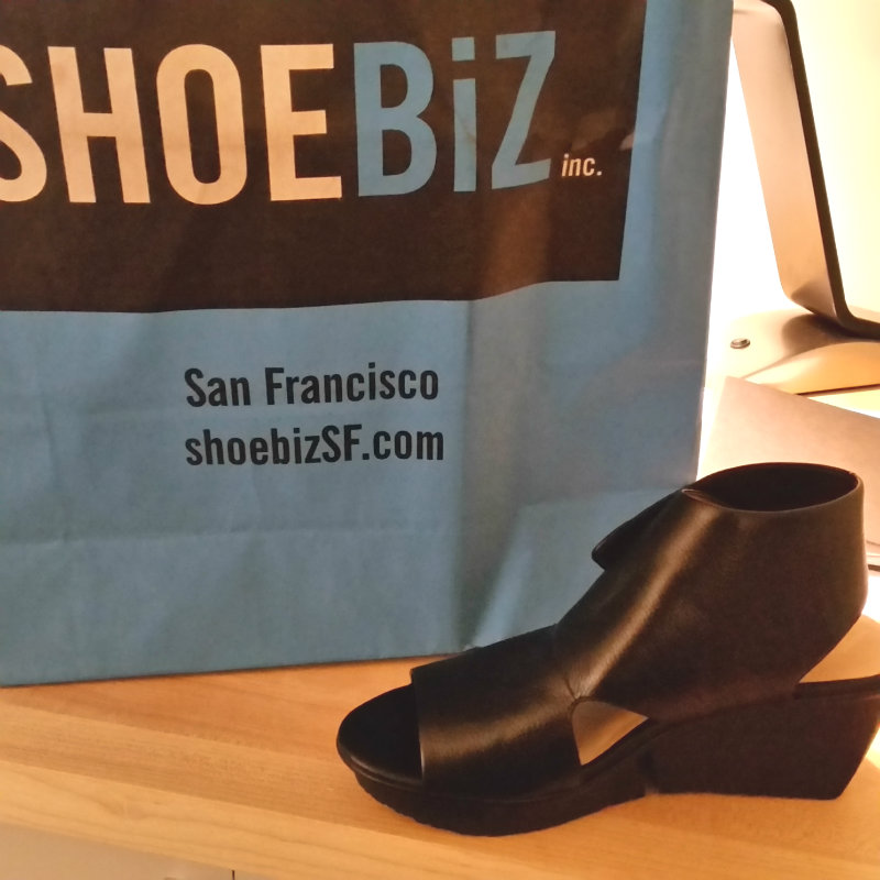 Shoes San Fran Visit California