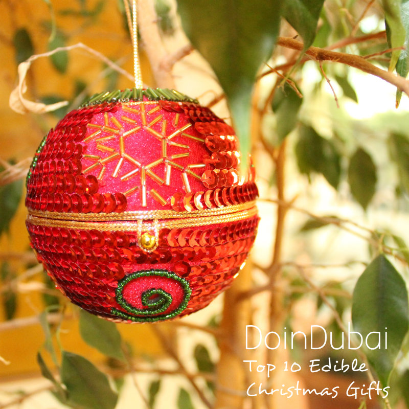 Bauble Top 10 Edible Christmas Gifts DoinDubai