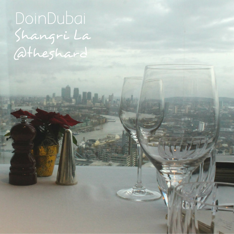Christmas in London DoinDubai Shard