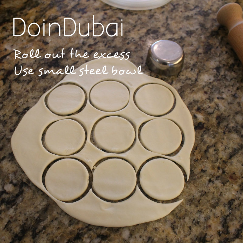 Mince Pies Ideas DoinDubai cut using a steel bowl