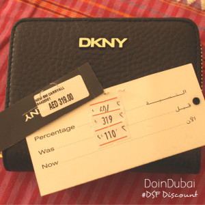 DoinDubai Dubai Shopping Festival DKNY Purse