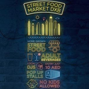 STREET FOOD MARKET IN DUBAI