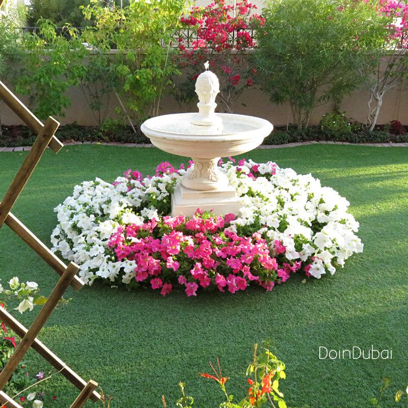 Artificial grass is environmentally friendly Arabian Ranches garden
