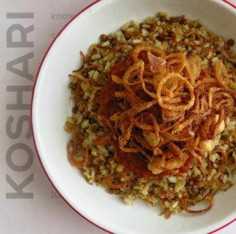 Koshari Point DoinDubai classic koshari