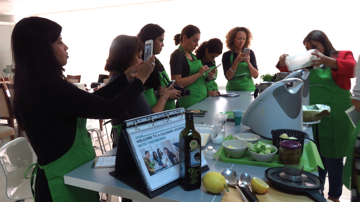 Thermomix in Dubai Blogger Event DoinDubai Learning gallery