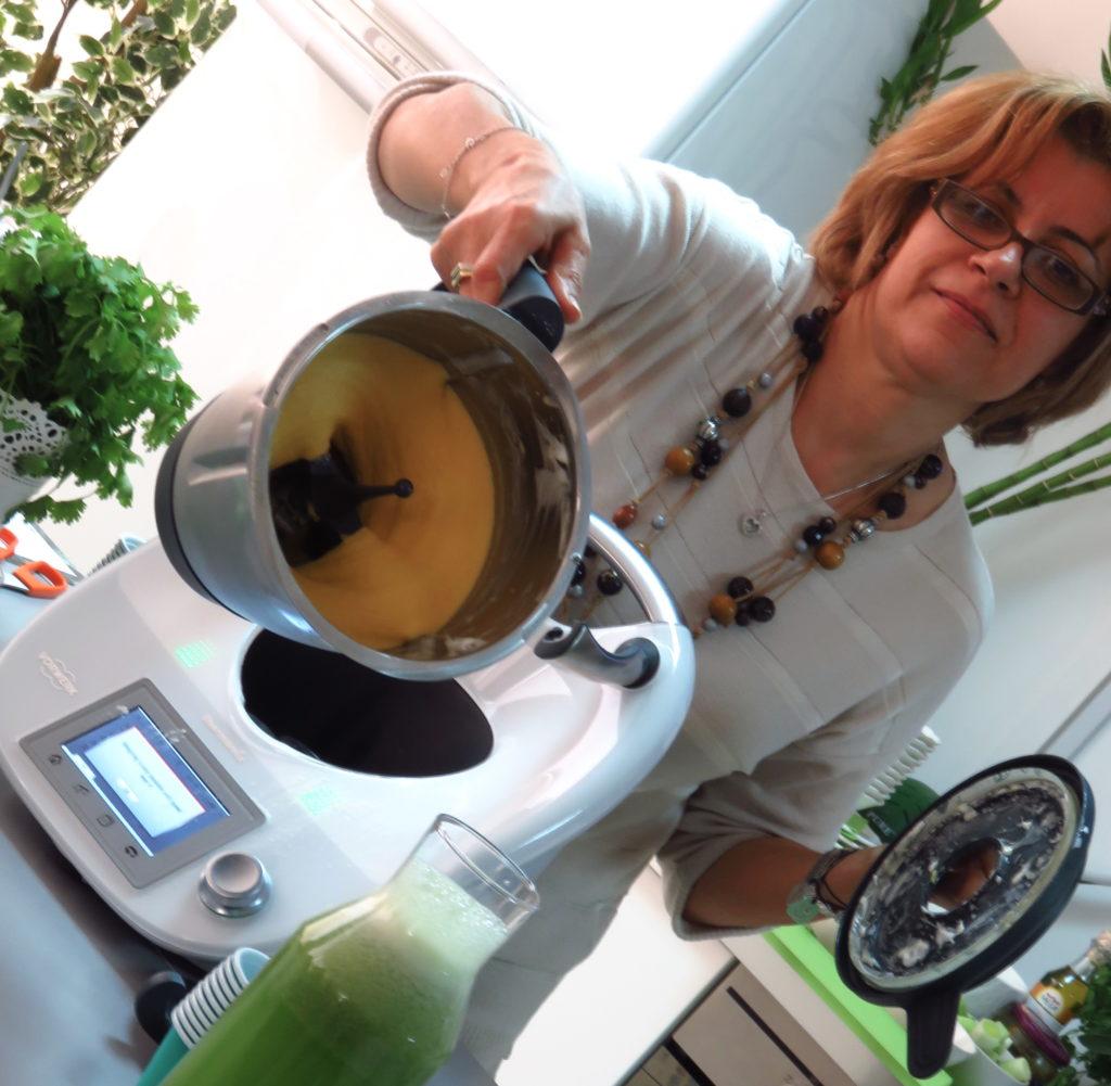 Thermomix in Dubai Middle East DoinDubai Blogger Event mango ice cream gallery