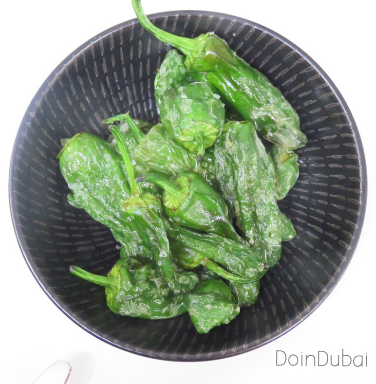 Bye Bye Ladies Nights DoinDubai padron peppers Cocktail Kitchen
