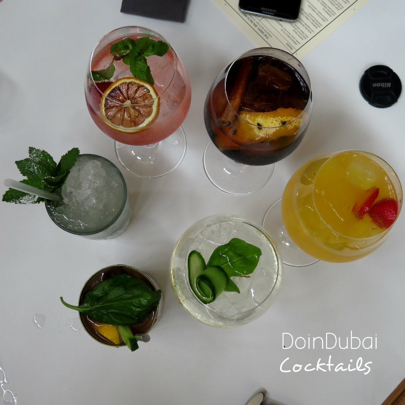 Great Cocktails at Cocktail Kitchen Friday Brunch DoinDubai