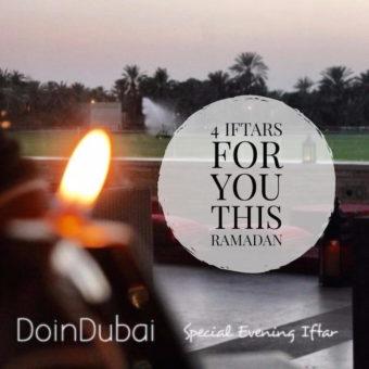 4 Iftars for you Dubai's Best Iftars 800