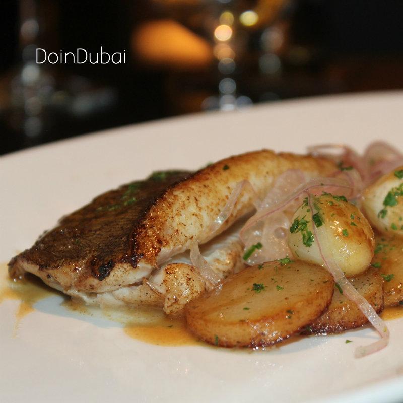 Best restaurant in Dubai Fish Meuniere