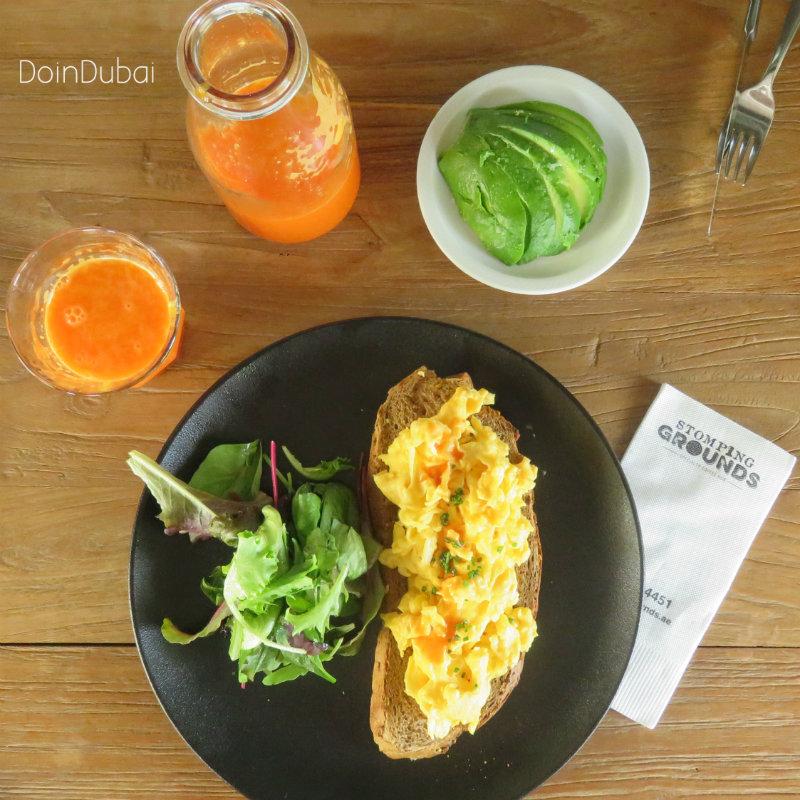 Stomping Grounds DoinDubai breakfast