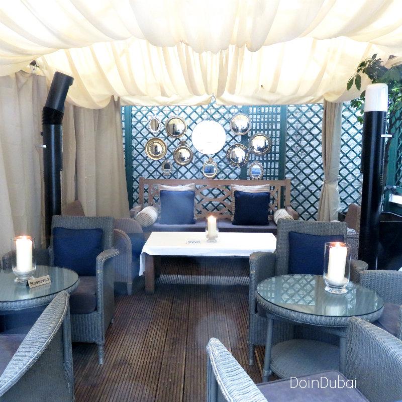 Best Cafe in London Dukes Majlis