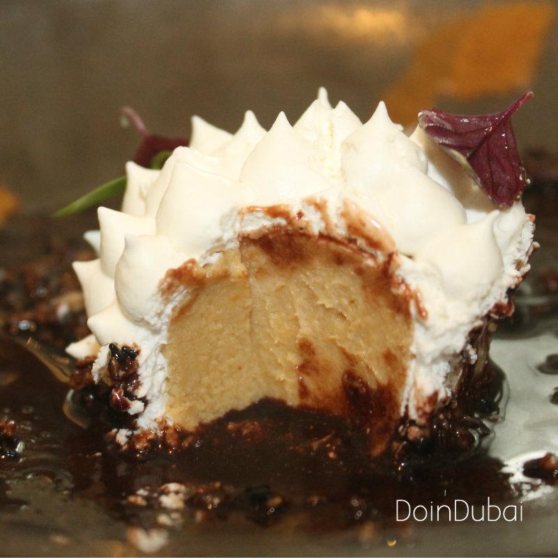 Totora DIFC Lucuma dessert