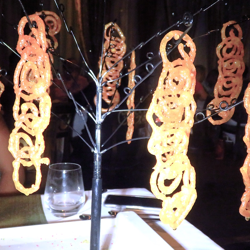 New Wave Indian Cuisine DoinDubai jalebi trees