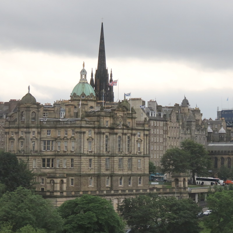 Visit Edinburgh DoinDubai The Balmoral View