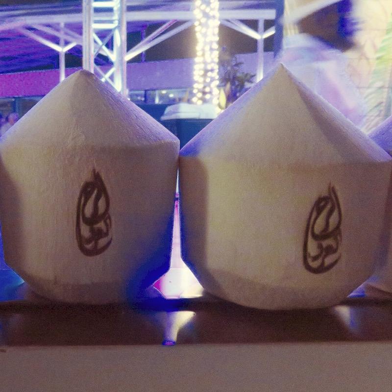 Scape Dubai DoinDubai Coconuts