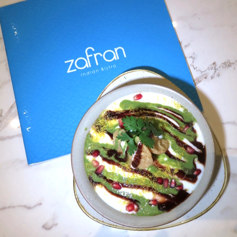 Zafran Indian Bistro DoinDubai Street Food Chaat