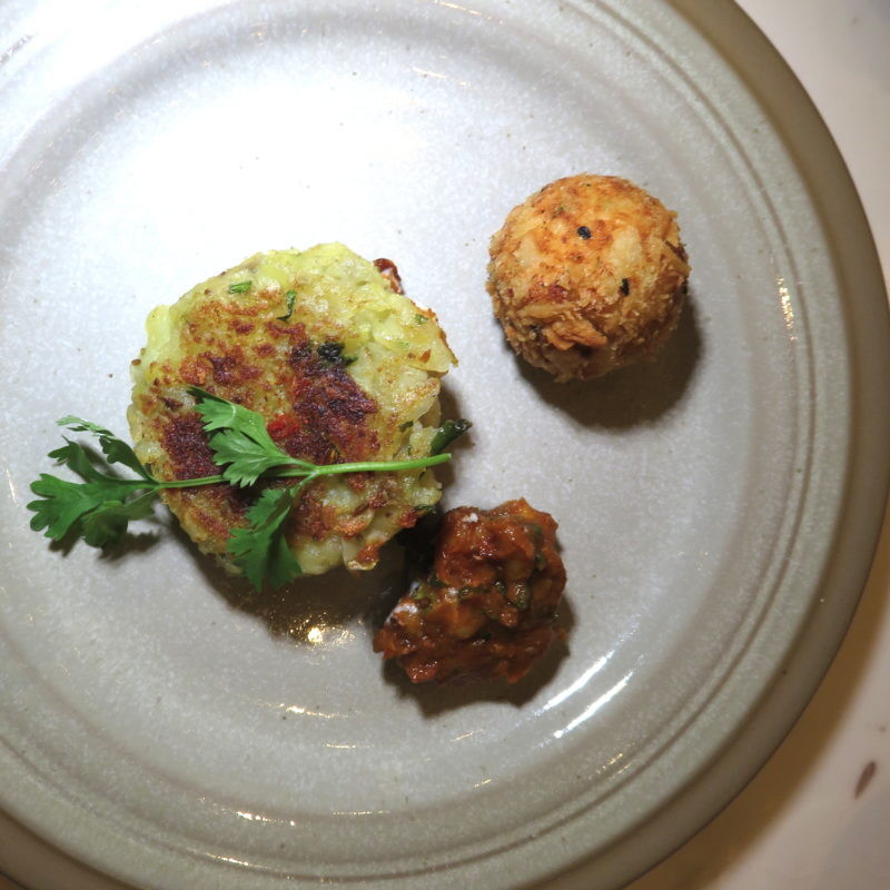 Zafran Indian Bistro DoinDubai Aloo Tikki