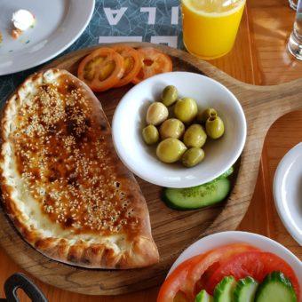 Image ofAl Seef Dubai DoinDubai Spinach manakeesh ILA