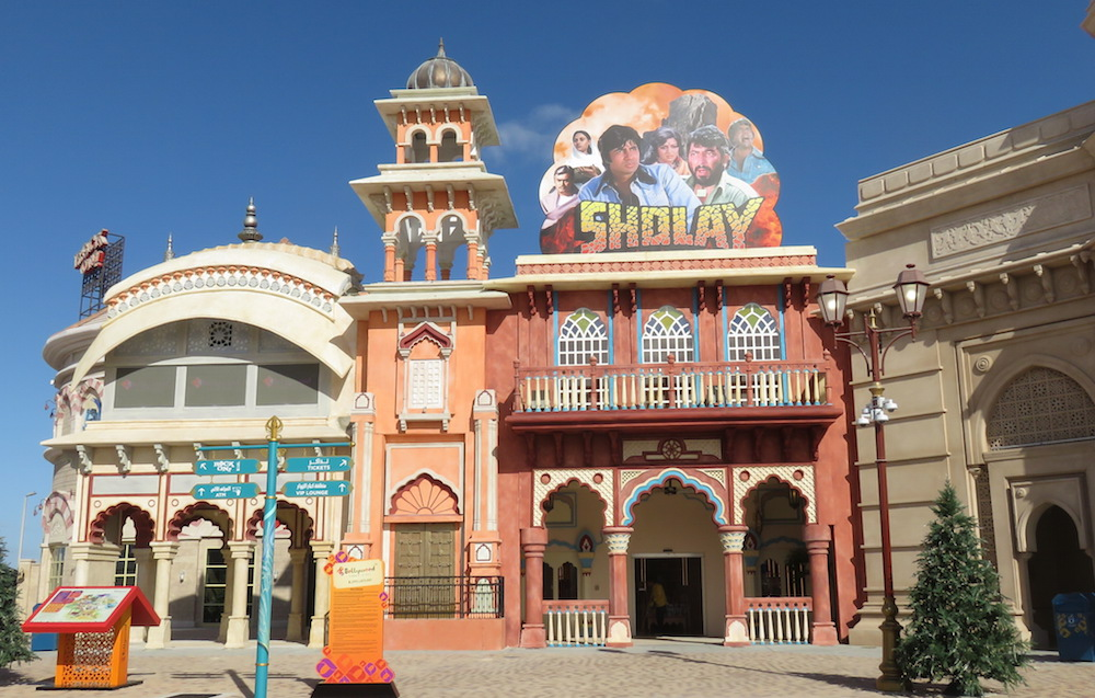 Dubai Parks and Resorts DoinDubai Sholay ride Bollywood Parks copy