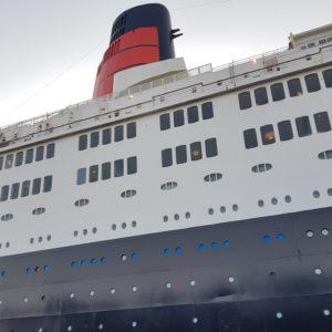Image ofRamdan in Dubai Doindubai QE2 front view of ship