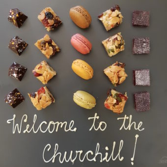 Image ofHYATT REGENCY CHURCHILL HOTEL LONDON DoinDubai Welcome Sweets