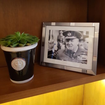 Image ofHYATT REGENCY CHURCHILL HOTEL LONDON DoinDubai Winston Churchill photo