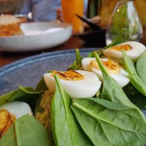Eggs Brulee on the menu at Andes Dubai DoinDubai